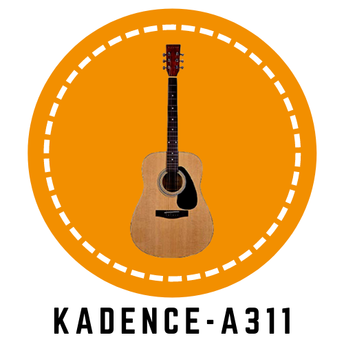 KADENCE-A311-Natural-color-guitar